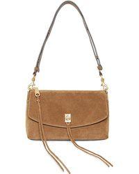 Rebecca Minkoff Darren Tassel Leather Crossbody Bag - Brown