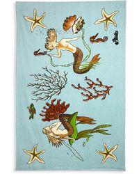 Loewe X Paula's Ibiza Mermaid Towel - Multicolor