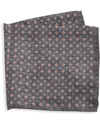 Saks Fifth Avenue - Collection Silk Floral Pocket Square - Lyst