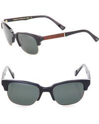 Shwood - Newport 52mm Acetate & Mahogany Sunglasses - Lyst