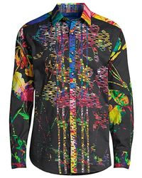 Robert Graham Tailored-fit Victory Printed Sport Shirt - Multicolor