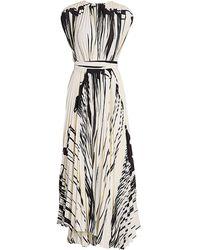 Proenza Schouler Pleated Wrap Dress - Black