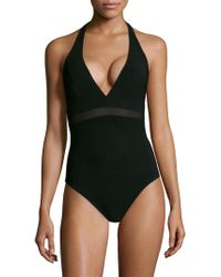Shan - Do You Think I'm Sexy Halter One-piece - Lyst