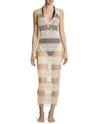Pilyq - Joy Lace Coverup Dress - Lyst