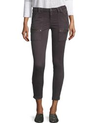 Joie - Park Zippered Skinny Jeans - Lyst