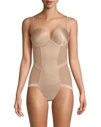 Le Mystere - Women's Infinite Edge Bodysuit - Natural - Lyst