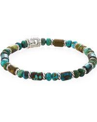 John Hardy - Classic Chain Silver Beads Bracelet - Lyst