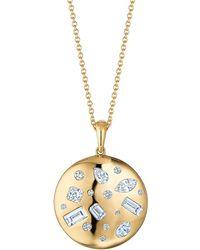 Kwiat 18k & Diamond Pendant Necklace - Metallic