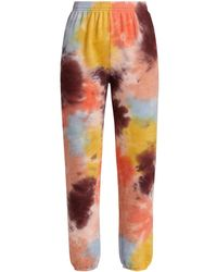 Monrow Tie-dye Sweatpants - Multicolor