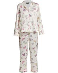 Generation Love Nikki 2-piece Butterfly Pajama Set - White