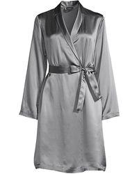 La Perla - Silk Robe - Lyst