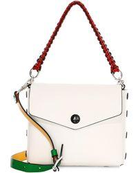 Lyst - Rag   Bone Bradbury Mini Faux Textured-leather Shoulder Bag ... 0f4bc2ea1e27b