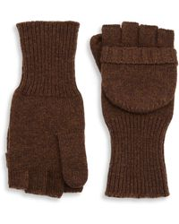 Saks Fifth Avenue - Collection Modern Mittens - Lyst