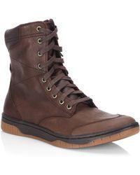 DIESEL - Tatradium Leather Boots - Lyst