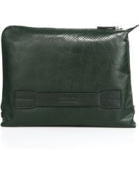 Uri Minkoff - Wareen Perforated Leather Pouch - Lyst
