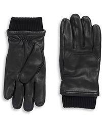 Canada Goose Workman Leather Gloves - Black