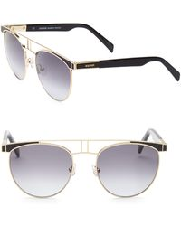 Balmain - 54mm Aviator Sunglasses - Lyst
