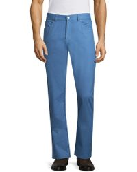 Peter Millar - Washed Twill Trousers - Lyst