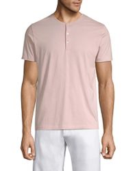 Bonobos - Refined Short-sleeve Cotton Henley - Lyst