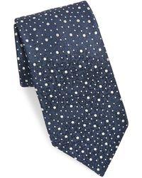 Charvet - Silk Space Dot Neat Tie - Lyst