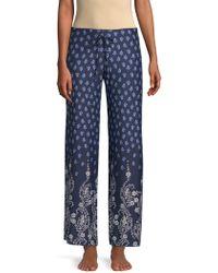 In Bloom - Dandelion Printed Pyjama Trousers - Lyst
