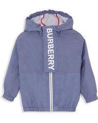 Burberry - Baby's & Little Boy's Austin Chambray Jacket - Lyst