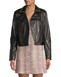 Ramy Brook - Yoma Studded Leather Jacket - Lyst