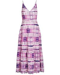 10 Crosby Derek Lam - Samaria Tiered Cami Maxi Dress - Lyst