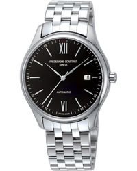 Frederique Constant - Classics Index Automatic-self-wind 5atm Stainless Steel Watch - Lyst