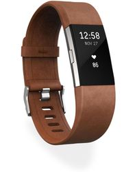 Fitbit - Luxe Leather Charge 2 Accessory Band - Lyst