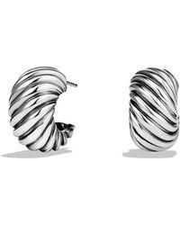 David Yurman | Cable Classics Hoop Earrings | Lyst