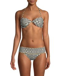OndadeMar - Twisted Bandeau Bikini Top - Lyst