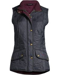 Barbour Cavalry Quilted Vest - Blue