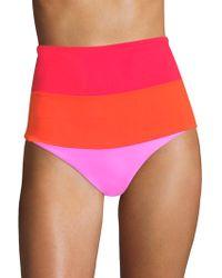 Mara Hoffman - Lydia High Waist Bikini Bottom - Lyst