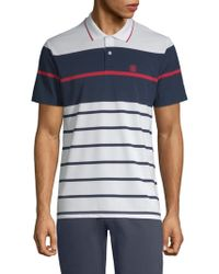 G/FORE - Chest Block Polo - Lyst