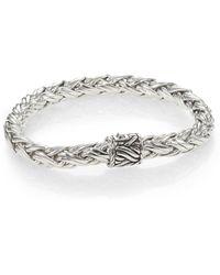 John Hardy | Sterling Silver Woven Bracelet | Lyst