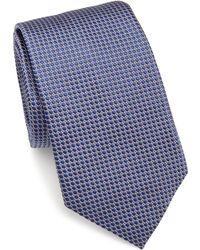 Eton of Sweden - Textured Silk Tie - Lyst