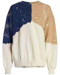 LA DETRESSE Malibu Crewneck Sweatshirt - Blue