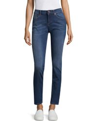 ESCADA - Toni Cropped Skinny Jeans - Lyst