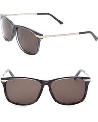 cd473d57b9 Lyst - Dior Chicago 63mm Metal Aviator Sunglasses in Metallic for Men