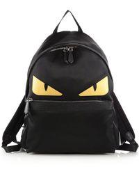 Fendi - Nylon Monster Backpack - Lyst