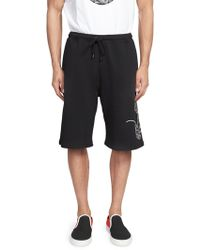 Marcelo Burlon - Cotton Mickey Mouse Shorts - Lyst