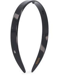 Alexandre De Paris Timeless-les Classiques Tortoiseshell Headband - Black