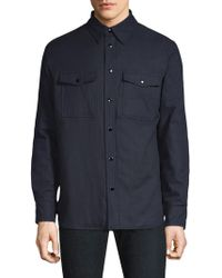 Rag & Bone - Quilted Shirt Jacket - Lyst