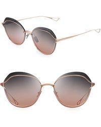 04e0d30b77ef Dita Eyewear - Nightbird Two 58mm Round Sunglasses - Lyst