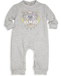 KENZO - Baby's Tiger Embroidered Romper - Lyst