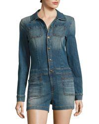 53bd85ed71e6 Lyst - Women s True Religion Jumpsuits Online Sale