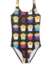 Terez - Little Girl's & Girl's One-piece French Fry Haven Swimsuit - Lyst