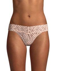 Hanky Panky - Pixie Dot Bikini Fit Lace Briefs - Lyst