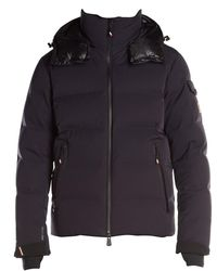 3 MONCLER GRENOBLE Grenoble Montgetech Hooded Down Puff Jacket - Blue
